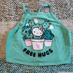 Tops - Hello Kitty crop top